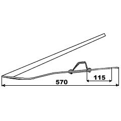 Releveur d'épi ASX-120.01 IH Case