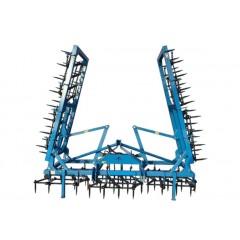 Une herse portée à dents 160x16mm 5.5m, 7.7m