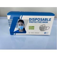 Masque de protection à usage unique 50 pcs