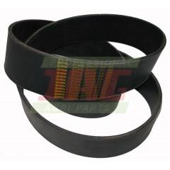 Courroie plate (100x3350) 418232M2-SANOK Massey Ferguson